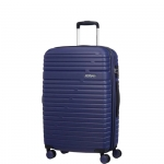 Trolley - American Tourister Valigia Trolley Aero Racer Spinner Exp L Nocturne Blue