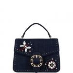 Hand Bag Piccola - Liu jo Borsa Hand Bag S Tiberina A19066T9779 Blu Denim