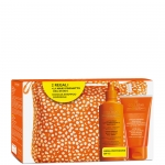 media protezione - Collistar Latte Spray Superabbronzante Idratante Spf 15 Viso e Corpo + Doccia Shampoo Doposole + Pochette