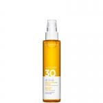 alta protezione - Clarins Huile-En-Brume Solaire SPF 30 - Olio Solare Corpo e Capelli