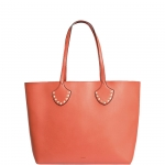Shopping bag - Nalì Borsa Shopping Bag L Borchie e Catena Arancio