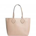 Shopping bag - Nalì Borsa Shopping Bag L Borchie e Catena Beige