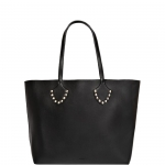 Shopping bag - Nalì Borsa Shopping Bag L Borchie e Catena Nero