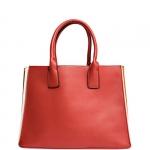 Hand Bag - Nalì Borsa Hand Bag L Plissè Mattone