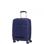 Trolley - American Tourister Valigia Trolley Aero Racer Frontl. Spinner S Nocturne Blue