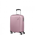 Trolley - American Tourister Valigia Trolley JetGlam Spinner S Metallic Pink