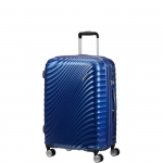 Trolley - American Tourister Valigia Trolley JetGlam Spinner Exp M Metallic Blue