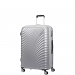 Trolley - American Tourister Valigia Trolley JetGlam Spinner Exp M Metallic Silver