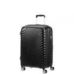 Trolley - American Tourister Valigia Trolley JetGlam Spinner Exp M Metallic Black