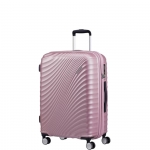 Trolley - American Tourister Valigia Trolley JetGlam Spinner Exp M Metallic Pink
