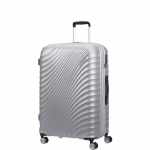 Trolley - American Tourister Valigia Trolley JetGlam Spinner Exp L Metallic Silver