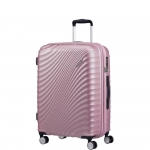Trolley - American Tourister Valigia Trolley JetGlam Spinner Exp L Metallic Pink
