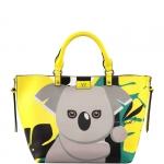 Hand Bag - Y Not? Borsa Hand Bag L JR041 Koala Yellow
