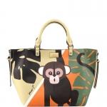 Hand Bag - Y Not? Borsa Hand Bag L JR041 Monkey Beige