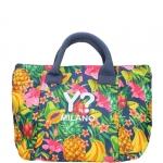 Shopping bag - Y Not? Borsa Beach Bag L TR002 Fruits