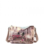 Shoulder Bag - Y Not? Borsa Shoulder Bag M Pink Rome L-370