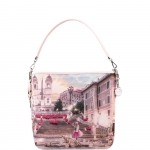 Shoulder Bag - Y Not? Borsa Shoulder Bag M Pink Rome L-349