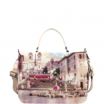 Hand Bag - Y Not? Borsa Hand Bag L Pink Rome L-333