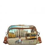 Tracolla - Y Not? Borsa Tracolla M Tan Gold Milan Fashion Tram L-331