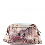 Tracolla - Y Not? Borsa Tracolla M Pink Rome L-331