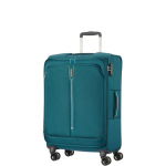 Trolley - Samsonite Valigia Trolley PopSoda Spinner Exp M Teal