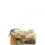 Beauty - Y Not? Beauty Bag L Tan Gold Rome Roman Holiday L-304