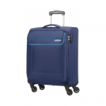 Trolley - American Tourister Valigia Trolley Funshine Spinner S Orion Blue