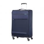 Trolley - American Tourister Valigia Trolley Herolite Spinner L Midnight Blu
