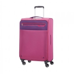 Trolley - American Tourister Valigia Trolley Lightway Spinner M Pink Purple