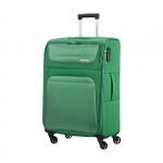 Trolley - American Tourister Valigia Trolley Spring Hill Spinner M Bamboo Green