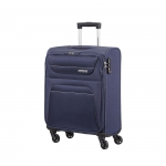 Trolley - American Tourister Valigia Trolley Spring Hill Spinner S Navy Blu
