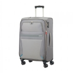 Trolley - American Tourister Valigia Trolley Summer Voyager Spinner L Exp. Volt Grey