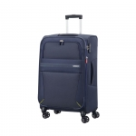 Trolley - American Tourister Valigia Trolley Summer Voyager Spinner M Exp. Midnight Blu