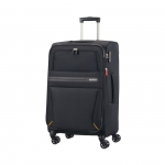 Trolley - American Tourister Valigia Trolley Summer Voyager Spinner M Exp. Volt Black