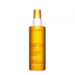 pelli ipersensibili - Clarins Spray Solaire Lait Fluide  UVA/UVB 50 Latte-Fluido Solare Spray Antietà Idratante UVA/UVB 50