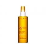 media protezione - Clarins Spray Solaire Lait Fluide Douceur Latte-Fluido Solare Spray Delicato Antietà Idratante UVA/UVB 20