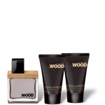 Profumi uomo - Dsquared He Wood Confezione Blue & Orange