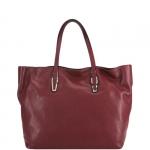 Shopping bag - Gianni Chiarini Borsa Shopping Bag L J.Box - Hot Red - Natural