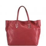 Shopping bag - Gianni Chiarini Borsa Shopping Bag L Scintillant - Rosso - Naturale