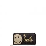 Portafoglio - Le Pandorine Portafoglio L Smiley Wallet Smile Black