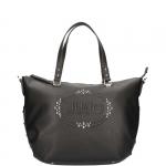 Secchiello - Liu jo Borsa Shopping Bag L Logo Lucciola Nero