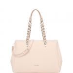 Shopping bag - Liu jo Borsa Shopping L Anna Chain True Champagne