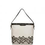 Shopping bag - Liu jo Borsa Shopping Bag Hobo M Aromia Lace Grey Light