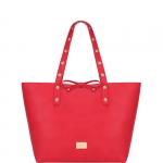 Shopping bag - Liu jo Borsa Shopping Bag L Reversibile Narciso Red Passion / True Champagne