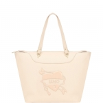 Shopping bag - Liu jo Borsa Shopping M Ciclamino True Champagne