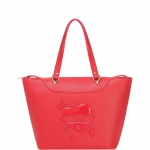 Shopping bag - Liu jo Borsa Shopping M Ciclamino Red Passion