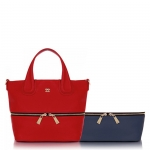 Shopping bag - Numeroventidue Borsa Shopping Bag Kanga M Red