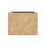 Accessori - Numeroventidue Flap Turtle Wallet Snake Beige