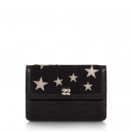 Pochette - Numeroventidue Pochette Ladybug S Stars Black