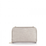 Portafoglio - Numeroventidue Portafoglio Ladybug S Wallet Metal Silver